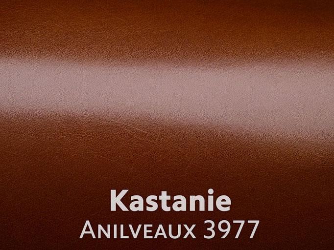 Boxcalf (Frenchcalf Anilin) Kastanienbraun
