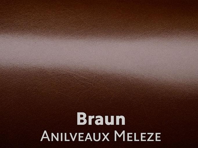 Boxcalf (Frenchcalf Anilin) braun
