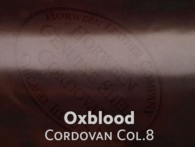 Cordovan (Pferdeleder) Oxblood #8