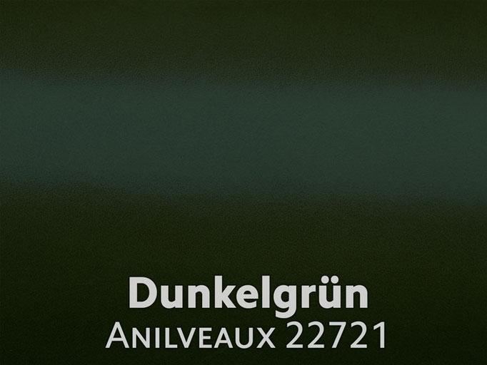 Boxcalf (Frenchcalf Anilin) dunkelgrün