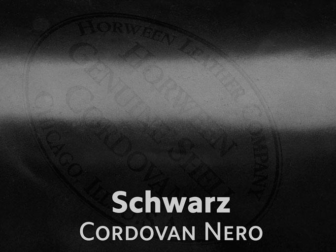 Cordovan (Pferdeleder) schwarz