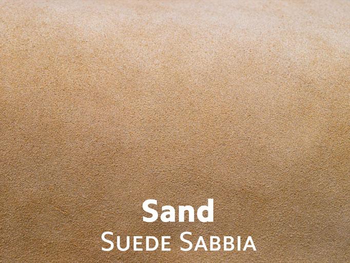 Velour sand hellbraun