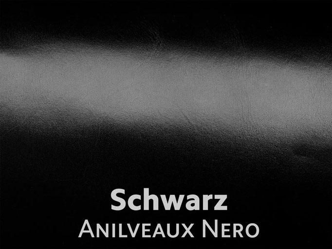 Boxcalf (Frenchcalf Anilin) schwarz