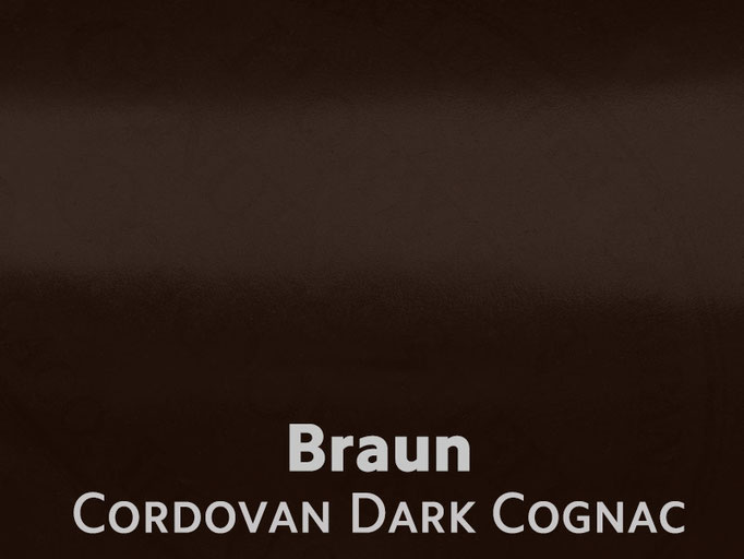 Cordovan (Pferdeleder) braun
