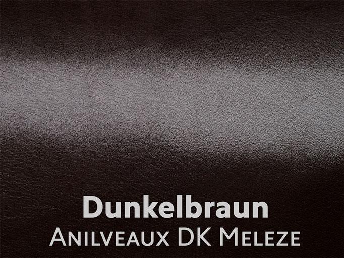 Boxcalf (Frenchcalf Anilin) dunkelbraun