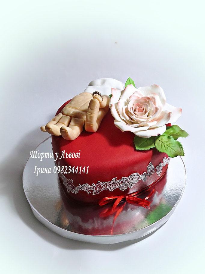 Торт на освідчення