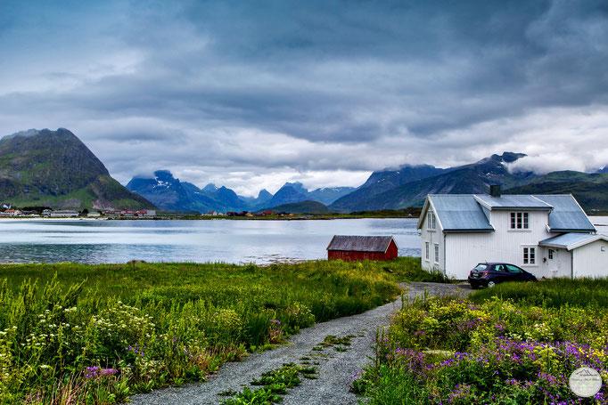"Bild: Ramberg, Flakstadoya Island, Lofoten, Norway, ""living in Ramberg""; www.2u-pictureworld.de"