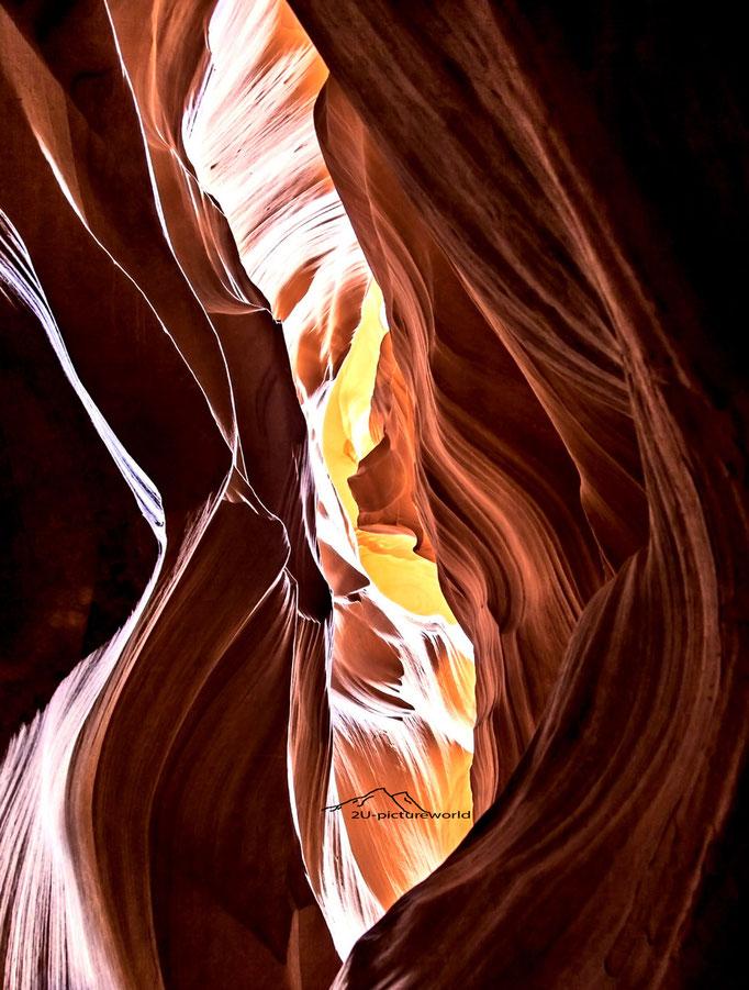 """Bild: """"Wellenschlund"""", Upper Antelope Canyon"""