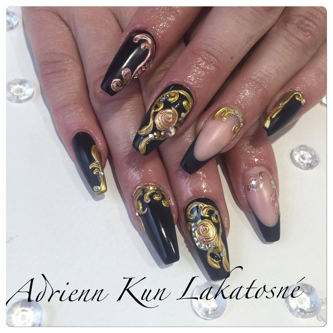 Pearl 3D Gel, Pearl Farbgel - fantastische Nailart im Pearl Nails and More von Adrienn Kun Lakatosné