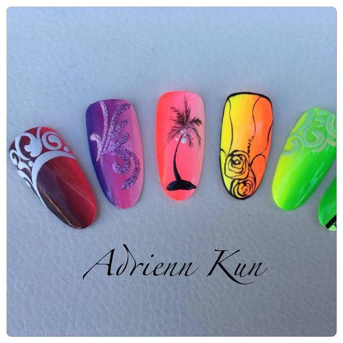 Pearl Neon Series für farbstarkes Nageldesign