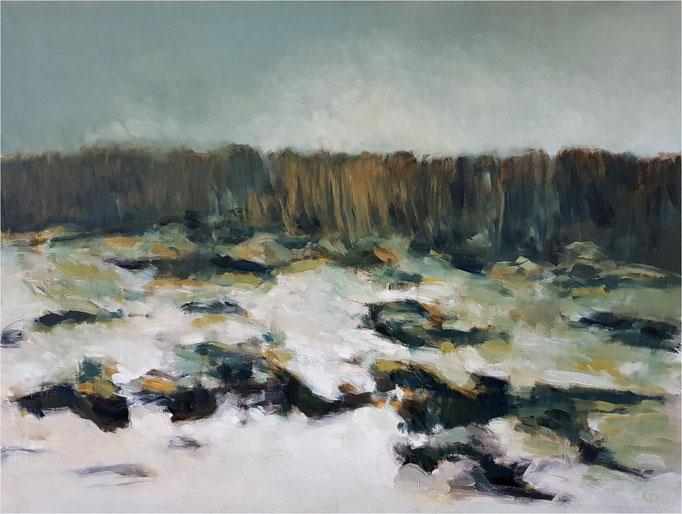 Kühlungsborn, Öl auf Leinwand, 2015, 120 x 90 cm