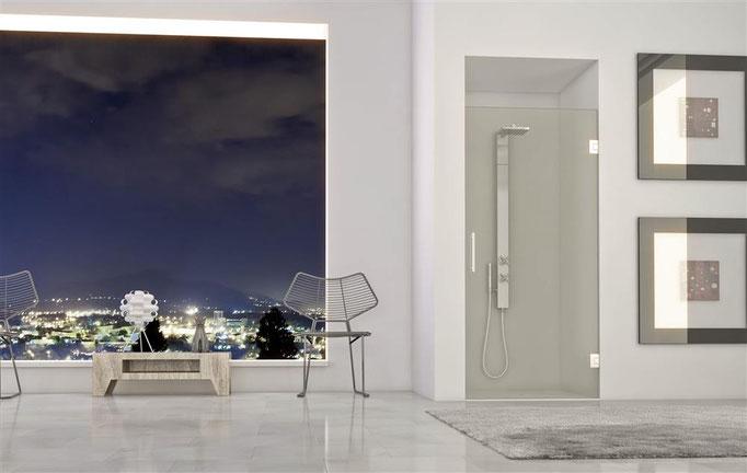 Mampara Glassinox modelo Formentera