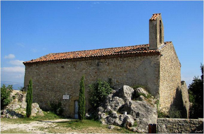 Chapelle St Barthélémy à Montauroux ( Donation de Christian Dior )