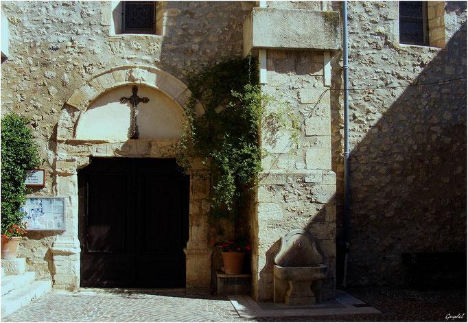 Eglise St André à Tourrettes