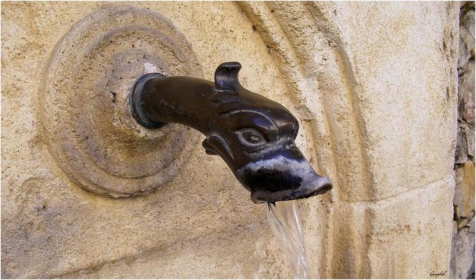 La fontaine de la Rue Antoine Bonnet à Montauroux