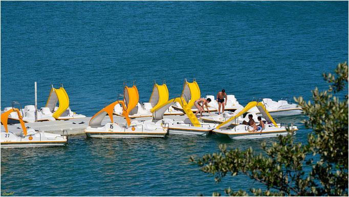"""La plage """"Okwide"""" ( Lac de St Cassien )"""