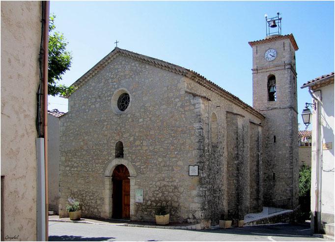 Eglise St Paul à St Paul en Forêt