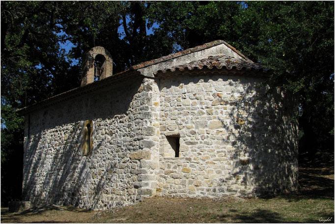 Chapelle St Michel à Montauroux (Arrière)