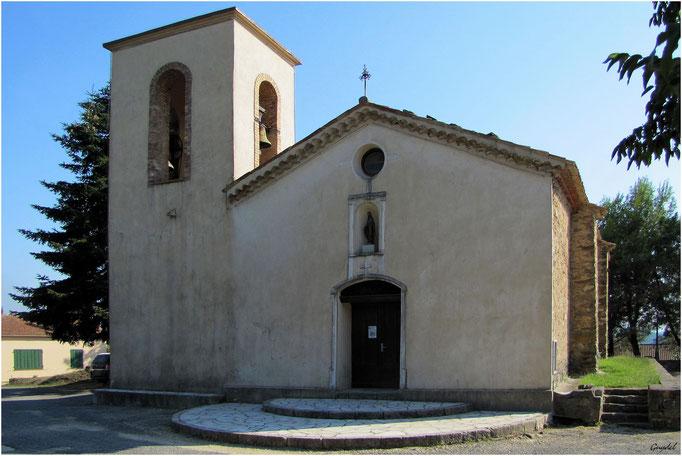 Eglise Notre Dame de Peygros à Tanneron