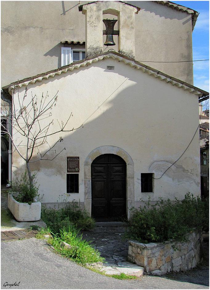 Chapelle St Roch à Fayence