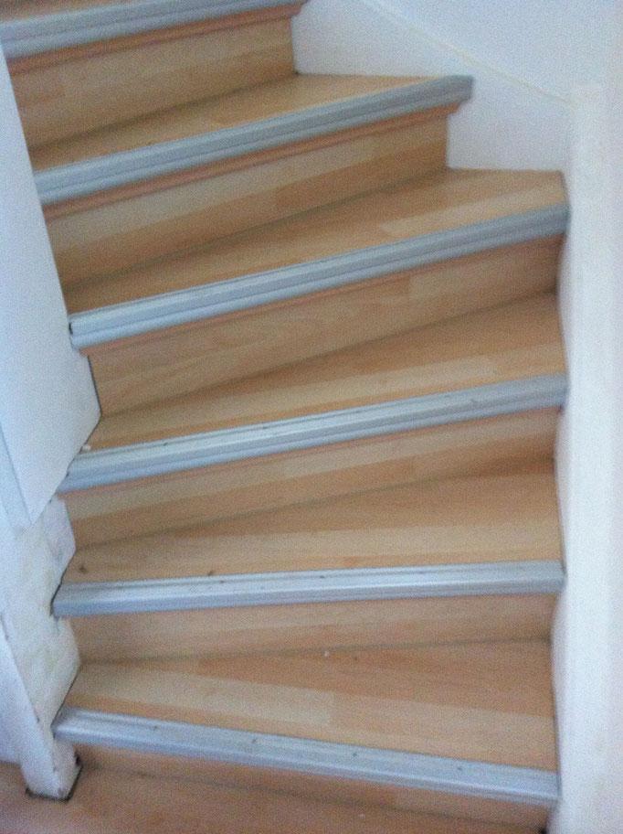 Laminat - Treppe