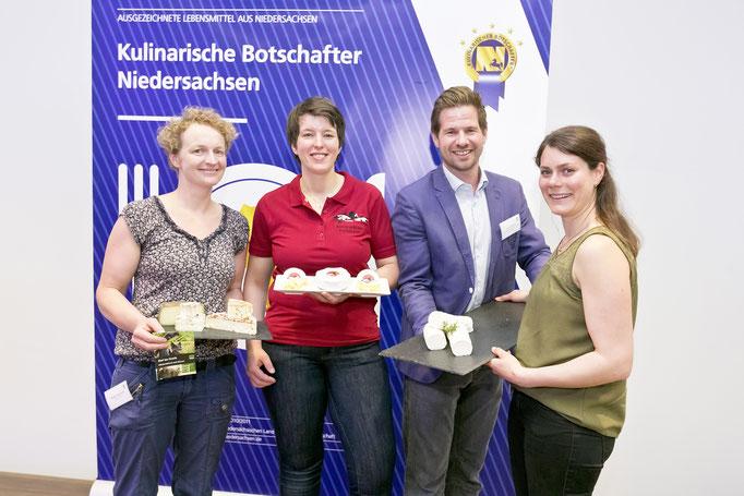 Hof im Greth GbR, Hof Bunkemühle und die Zeigerei: drei Käserein aus Niedersachsen ausgezeichnet