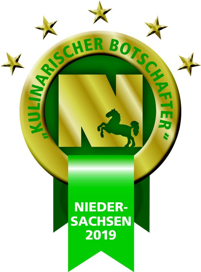 kulinarischer Botschafter Niedersachsen 2019
