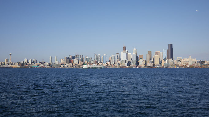 Seattle Sky Line von West Seattle