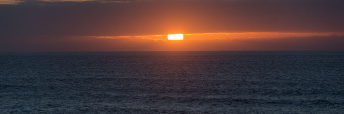 "Ausstellungs # 46 Format 90x30cm Titel ""Sunset"""