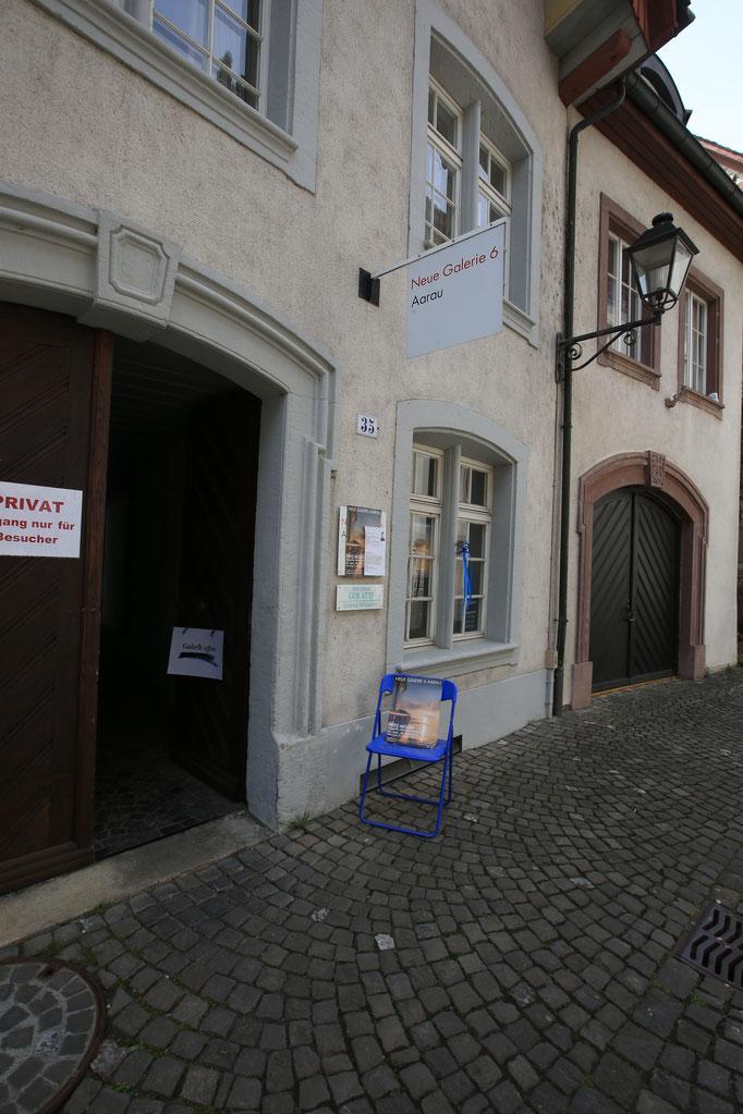 Eingang zur Galerie