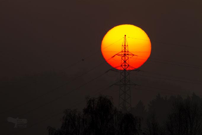 "Ausstellungs # 38  Format60x40cm Titel: ""Solar Power"""