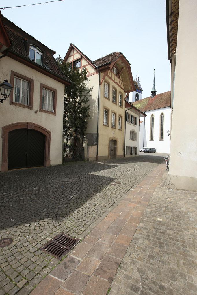 Lage der Galerie in der Altstadt