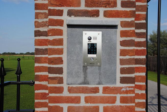 Intercom3 voor deur en poort