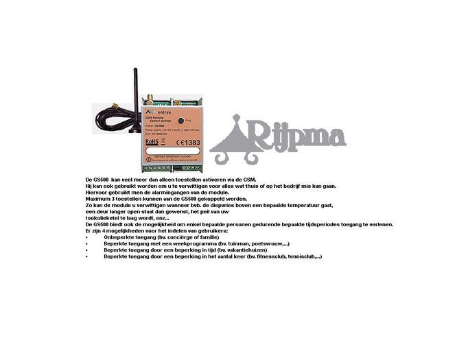 GSM 2 afstandbediening voor deur en poort
