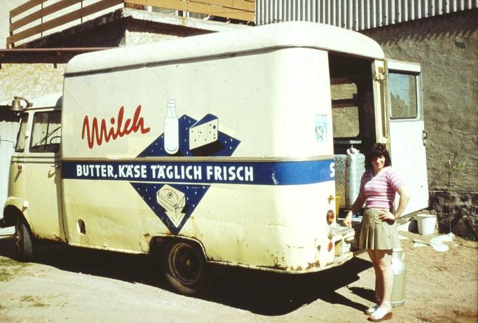 """Milchwagen Thies, ehemals """"Milchkoch"""""""