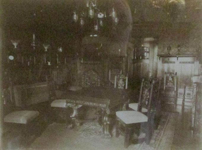 Das Hochzeitszimmer im ursprünglichen Zustand