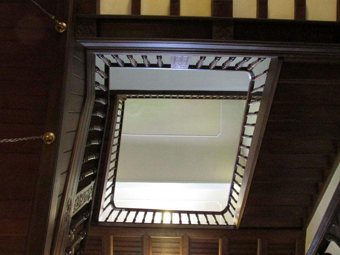 Das Treppenhaus / Foto M. Zühlsdorf