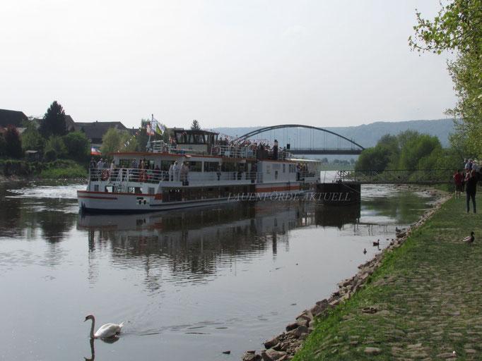 Eröffnungsfahrt Flotte Weser 2014 © Martin Zühlsdorf
