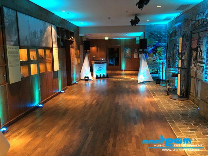 Tanzfläche 2018 im DAH unterer Saal