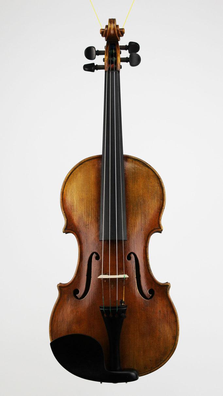 Guarneri del gesu Kopie - aus einem kleinen Geigenbau Atelier in Niederbayern