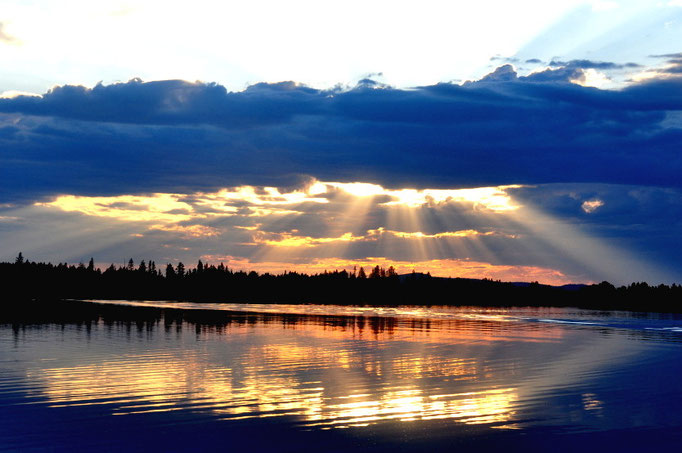 Juktån Fluss/lappland