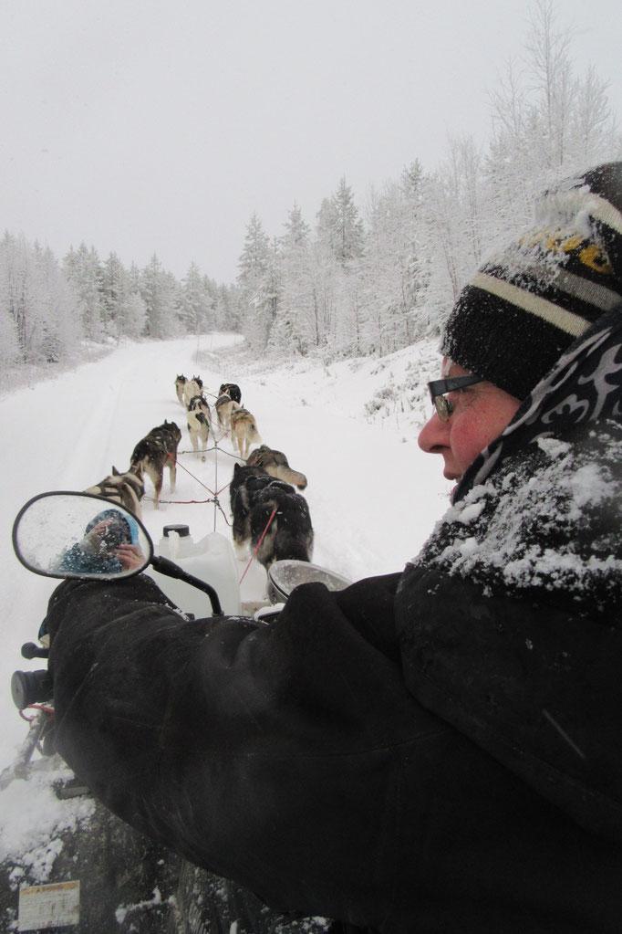 Schnee, Winter, Kälte =Lappland