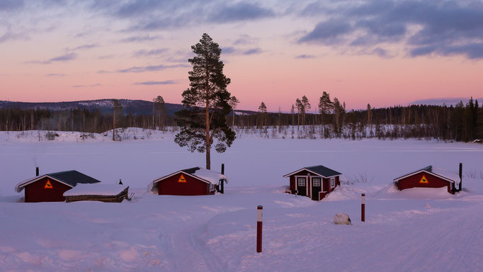 Blcokhütten Lappland