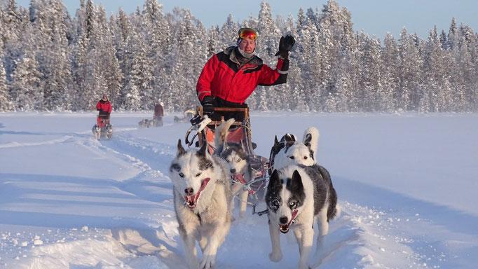 Aktive Erlebnisreisen nach Lappland