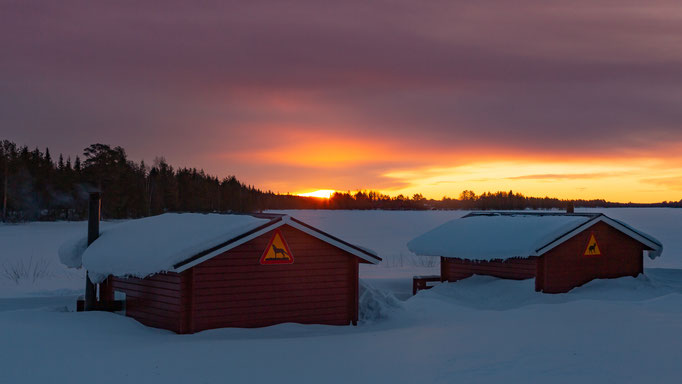 Sonnenaufgang bei Lappland`s Drag