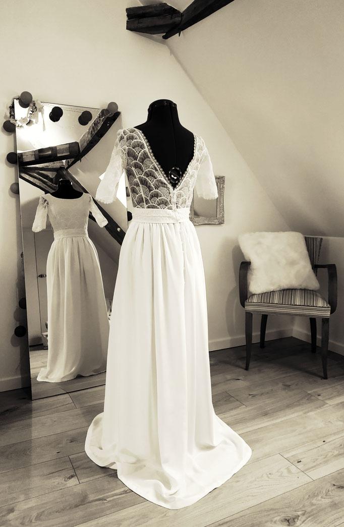 Robe de mariée Louise