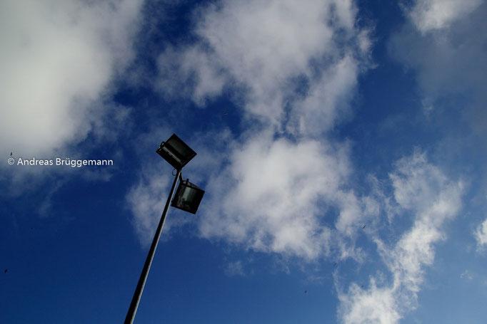 Blick in den Himmel ...