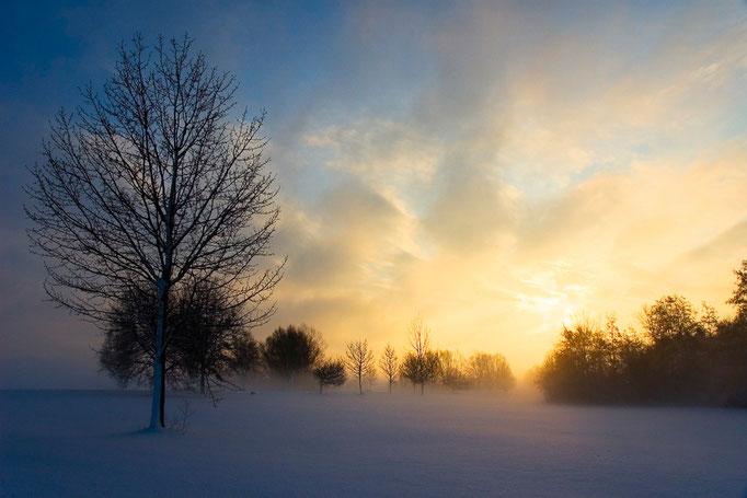 Sonnenaufgang am Altmühlsee