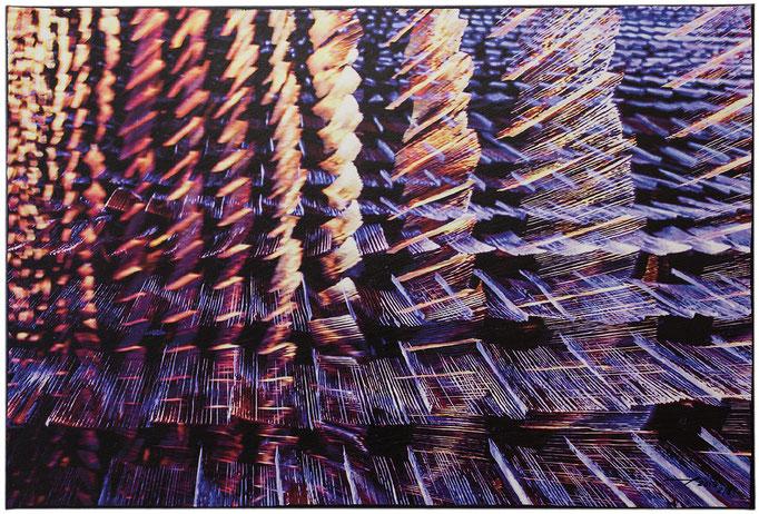 LUMNEZIANS (2013, 2/8, 90x60cm, MP0014, Photographie, Digitaldruck auf Leinwand, Acryl) © Michael Pfenning