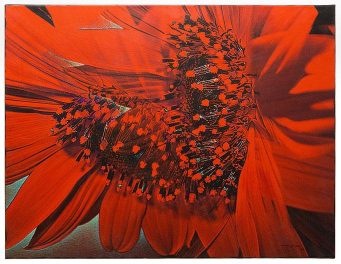 ANGELHEART (2015, 1/8, 85x65cm, MP0306, Photographie, Inkjet-Pigmentdruck auf Leinwand, Acryl) © Michael Pfenning. Verkauft/Sold